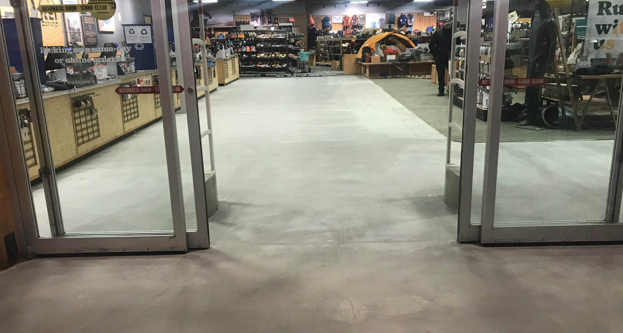 TeamIA, concrete repair, Industrial Applications Inc, commercial concrete polishing, IA30yrs