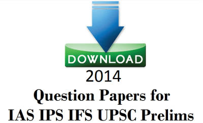 2014 UPSC Question Papers free Download