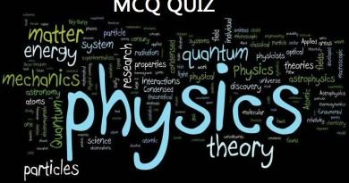 UPSC MCQs Quiz 6: Science (Physics) with answers IAS UPSC