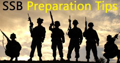 SSB Preparation points to remember for National defence academy, Indian Air force, Indian Army. Service Selection Board SSB important 11 points to remember.