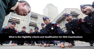 What is the Eligibility criteria and Qualification for NDA Examinations