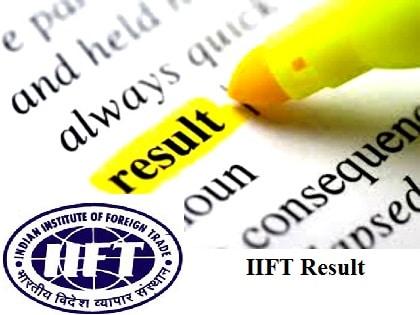 IIFT Result