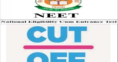 NEET cut off for government colleges 2018