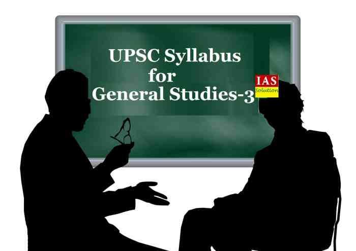 General Studies Paper 3