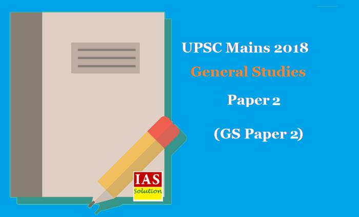 General Studies Paper 2