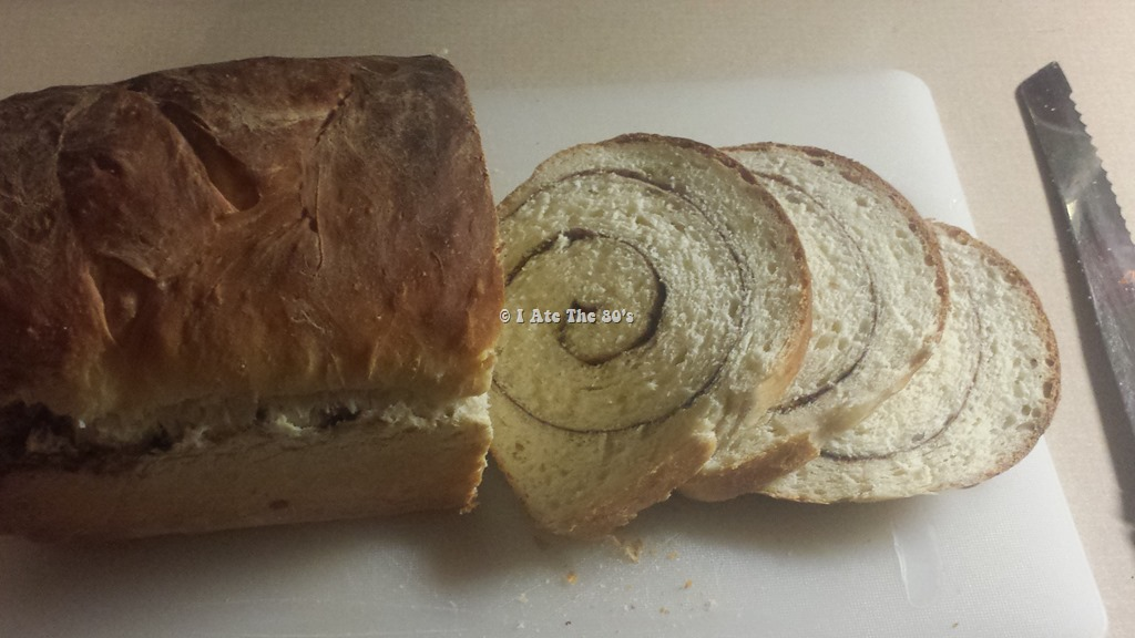 80's Recipe Test–Cinnamon Swirl Bread