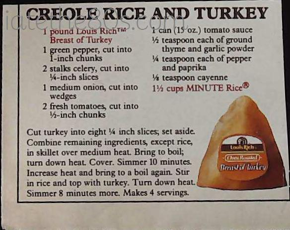 Creole Rice And Turkey