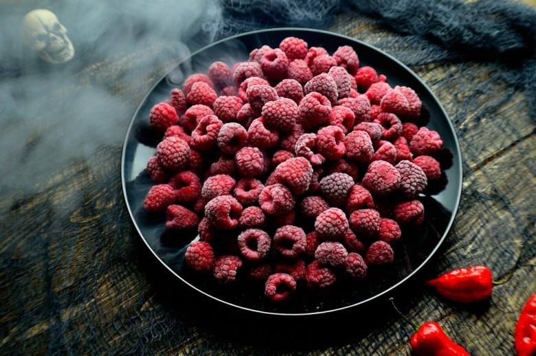 ghost pepper raspberry sorbet 1