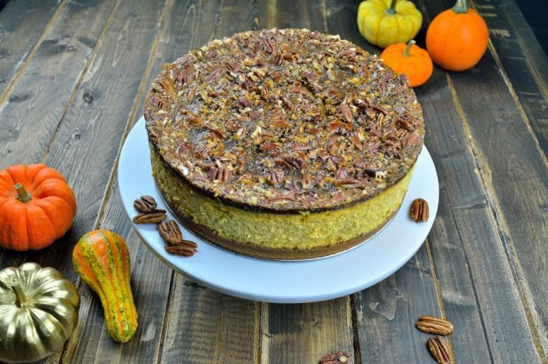 pecan pumpkin cheesecake 2