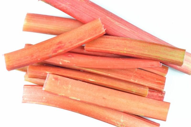 vanilla roasted rhubarb 1