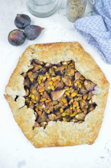 fig pistachio galette 4