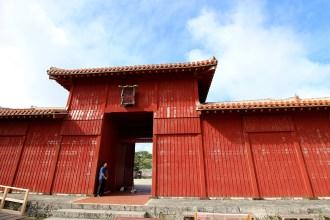 広福門(こうふくもん)建物そのものが門の機能をもっている