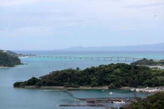 古宇利大橋もはっきり見えます
