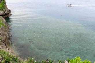 透き通るような美しい海
