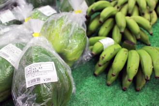 直売所もあり、新鮮な野菜や果物が