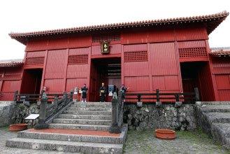 奉神門(ほうしんもん)正殿へ入る前の最後の門