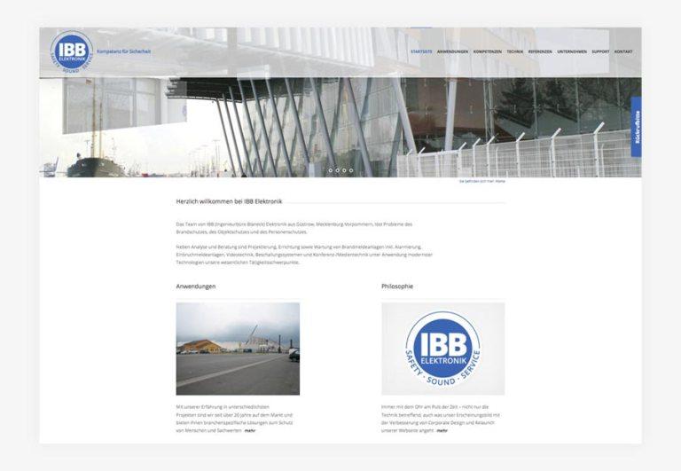 Neue Webseite - IBB Elektronik