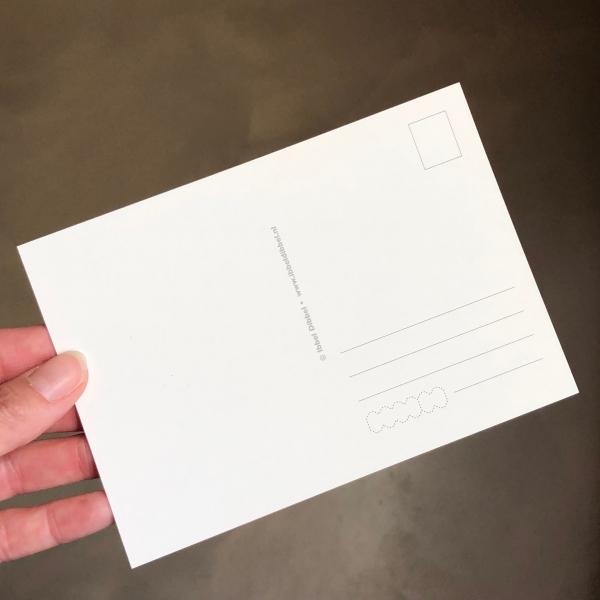 ansichtkaart dotpainting Ibbel Dibbel