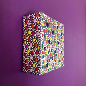 Sweetie Darling mini dot painting