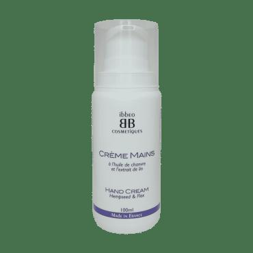 Crème mains, Lin et Chanvre – 100ml