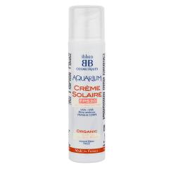 Crème solaire FPS 30 : haute protection, filtres minéraux et cassis – 50ml