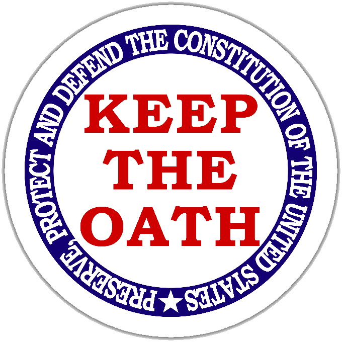 Remind your elected officials from the President on down to keep their oath of office: to Preserve, Protect and Defend the Constitution of the United States of America.