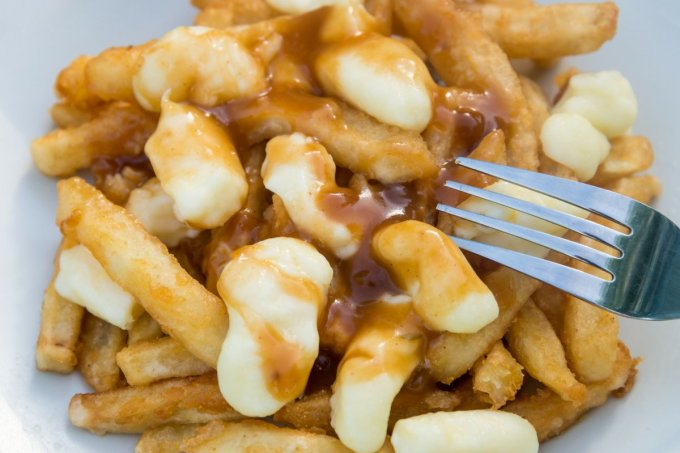 poutine is the national food of Canada