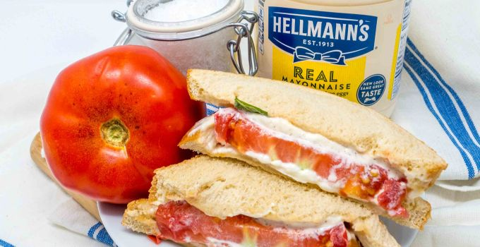 While a southern tomato sandwich is essentially only a tomato and mayo sandwich, it's the best simple sandwich around