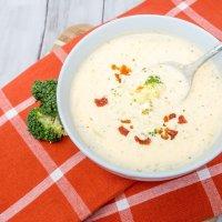 Easy Broccoli Cheese Soup
