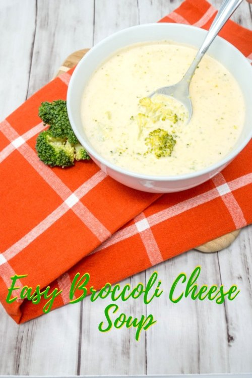 Simple broccoli cheddar soup hits the spot for a weeknight meal in just 30 minutes