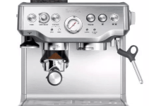 The Breville BES870XL Barista Express is an excellent espresso machine, even for first-time users