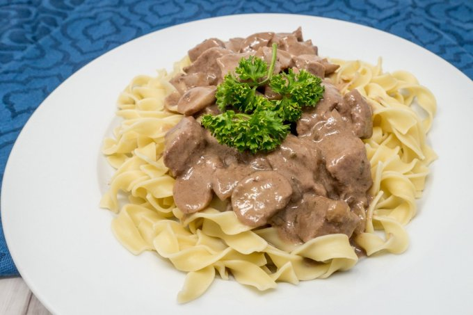 Wondering how to make beef tips tender? Cook them low and slow in the oven.