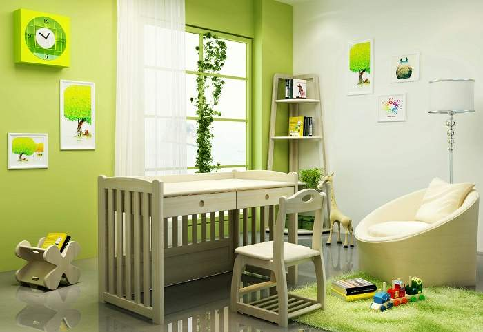 baby cot to study table