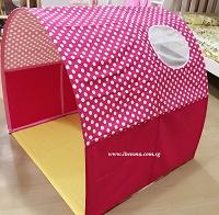 Children Bed Canopy   little dots