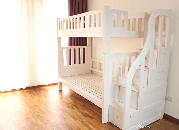 M204A Bunk Bed   Convertible bunk bed (Single or Super Single)