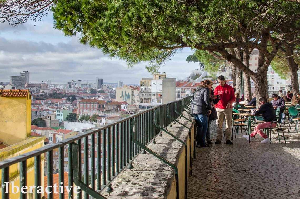 Lisbon's van tour
