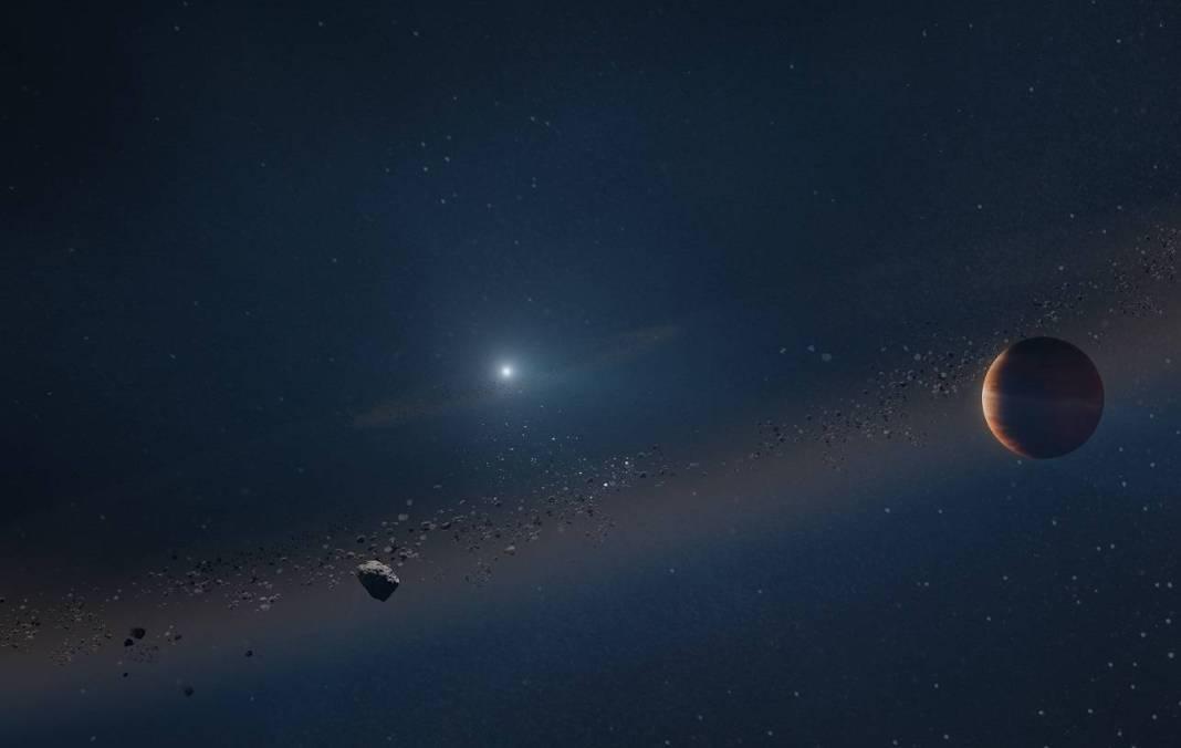 Recreación artística del planeta denominado MOA-2010 BLG 477Lb orbitando una enana blanca. / W. M. Keck Observatory / Adam Makarenko.