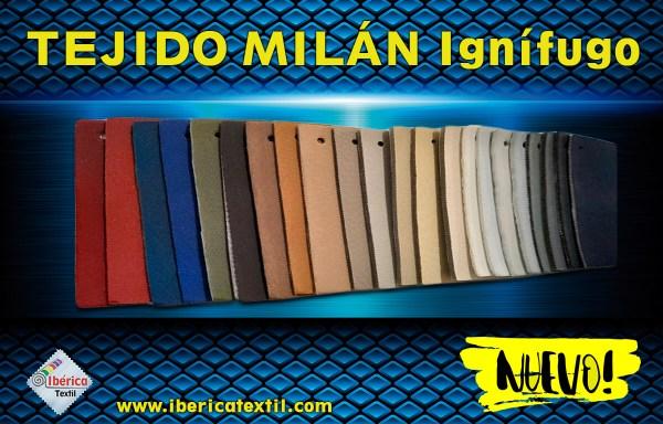 Tejido Milán Ignífugo