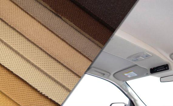 Tela foamizada para techo de coche