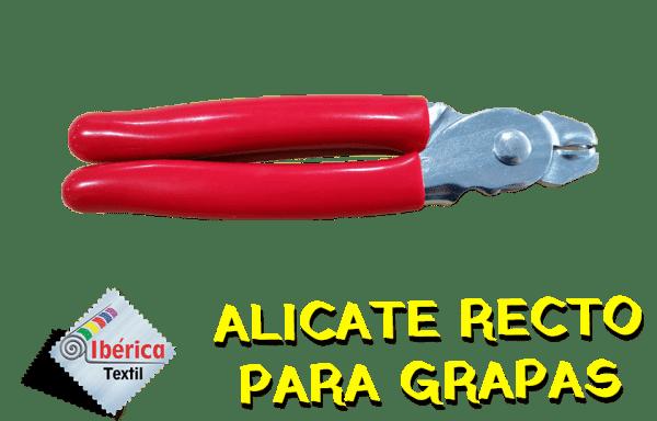 ALICATE PARA GRAPAS RECTO (TAPICERÍA)