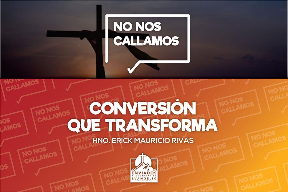 Conversión que transforma