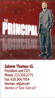 The Principal Business Card