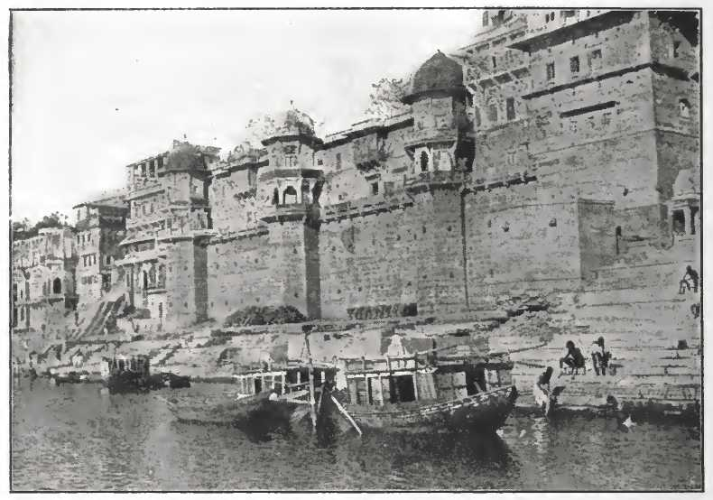 The River Ganges at Benares in the nineteenth century