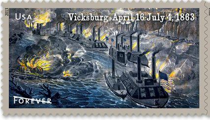 Vicksburg & Gettysburg stamps