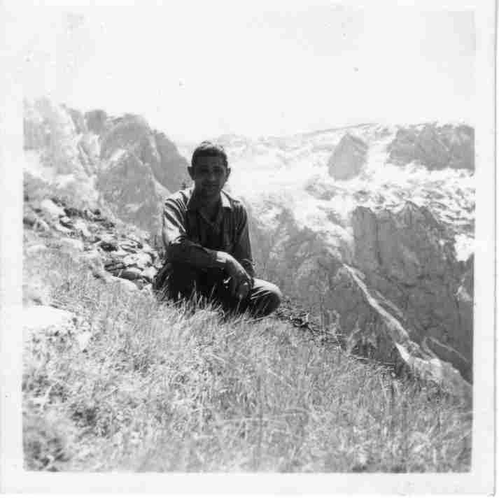 Felix in Garmisch-Partenkirchen, Austria, 1945