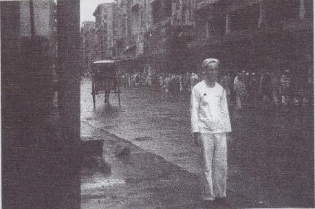 Ralph in Manila (undated, possibly September, 1945).