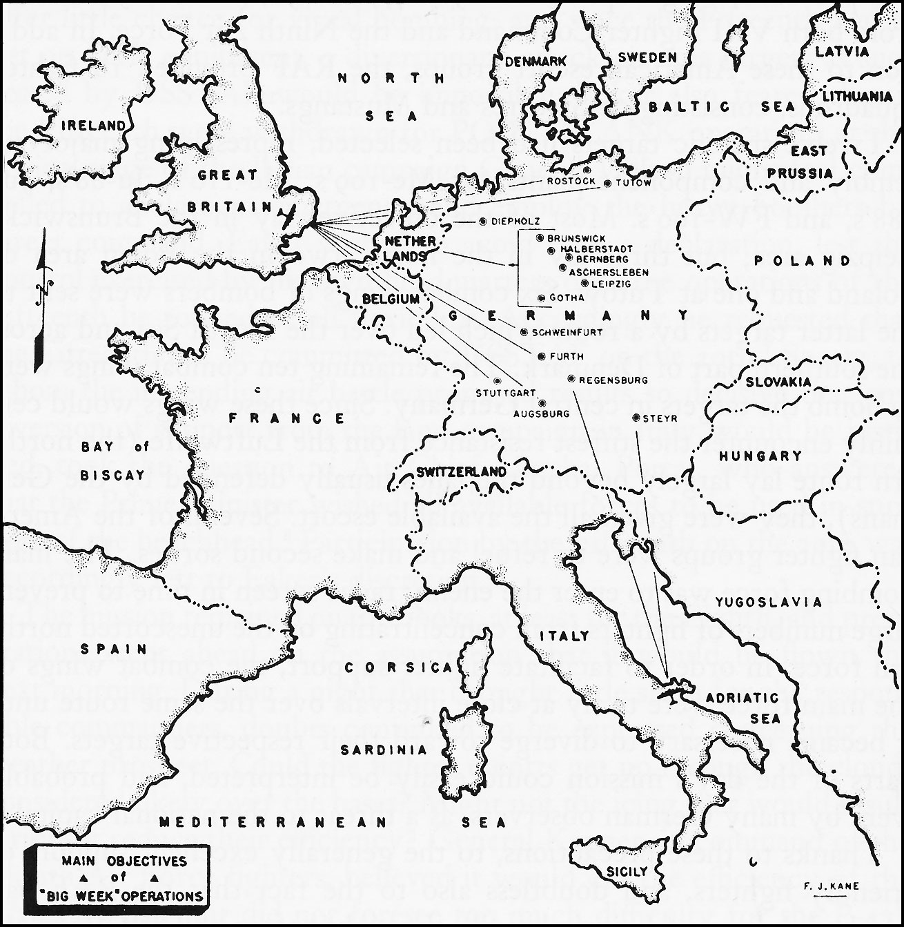 Hyperwar Army Air Forces In World War Ii Volume Iii Europe Argument To V E Day January