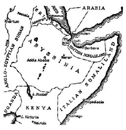 Map: East Africa