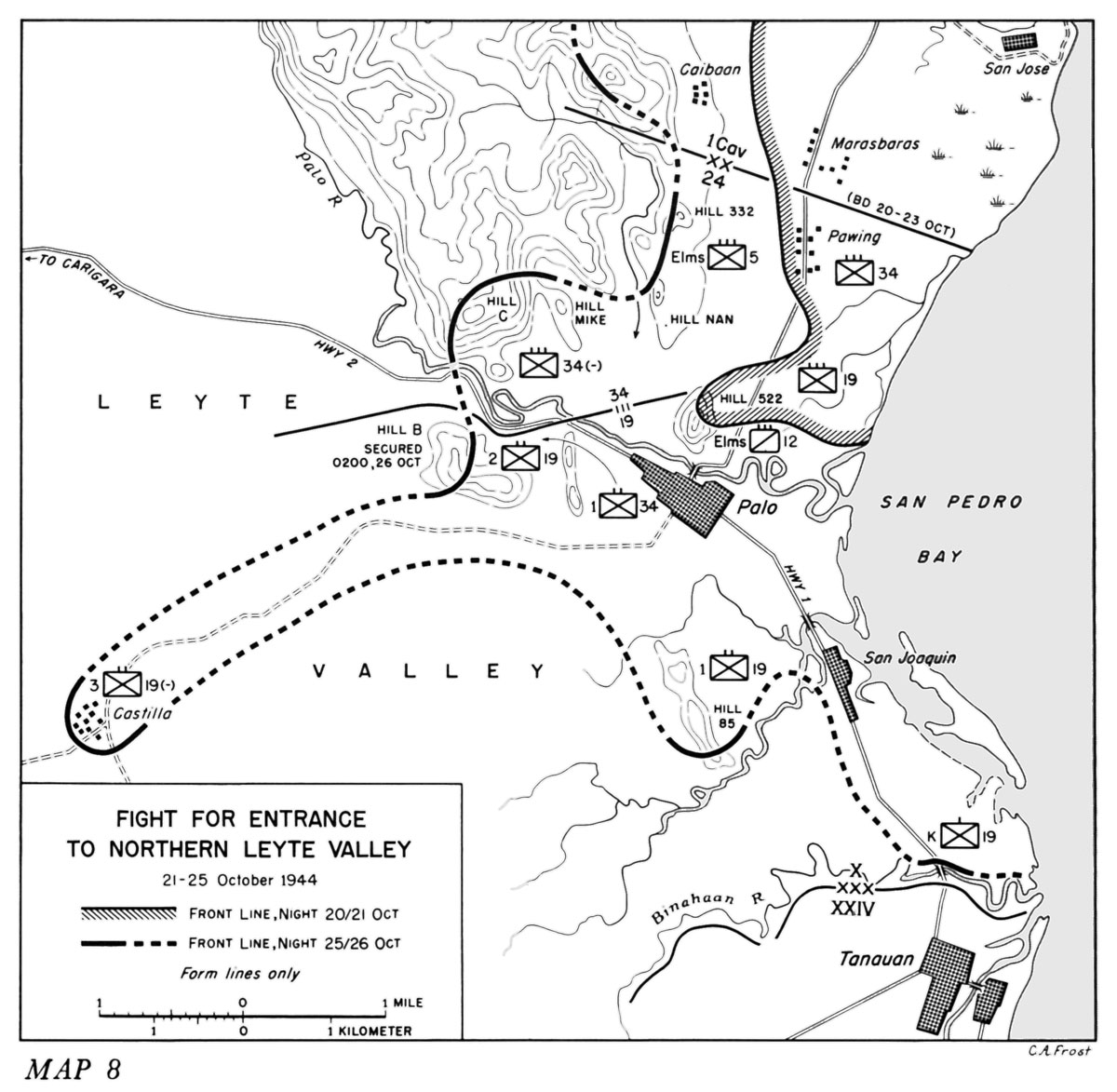 Hyperwar Us Army In Wwii Leyte The Return To The Philippines