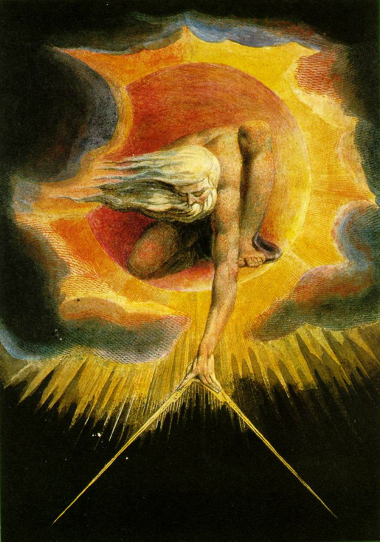 Ancient of Days, by William Blake